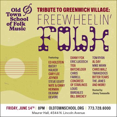Tribute to Greenwich Village: Freewheelin' Folk of the '60s