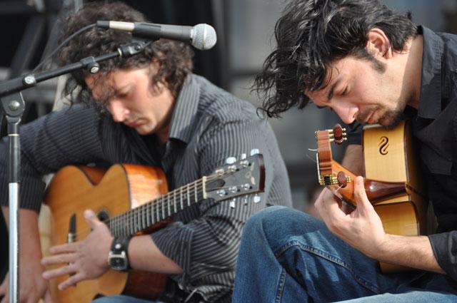 Andreas Kapsalis & Goran Ivanovic Guitar Duo - World Music Wednesday