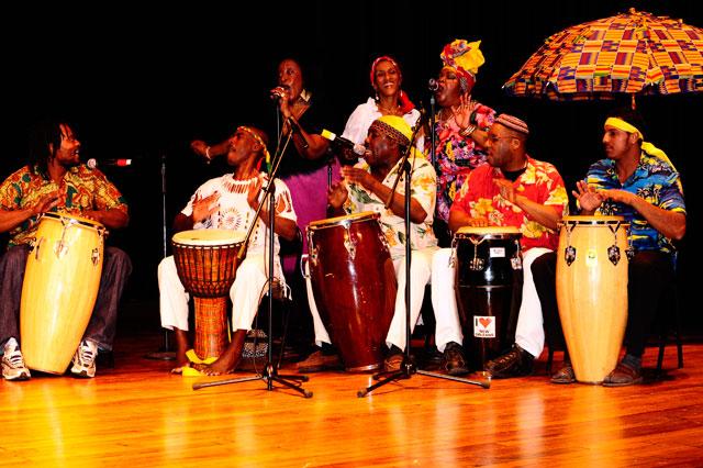 Alfred Baker & West Indian Folk Dance Co. Musicians - Global Dance Party