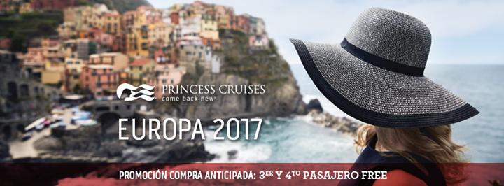 Princess Cruceros viajes en crucero