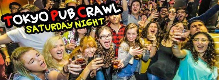 ★ Saturday Pub Crawl! ★ + Free club entry